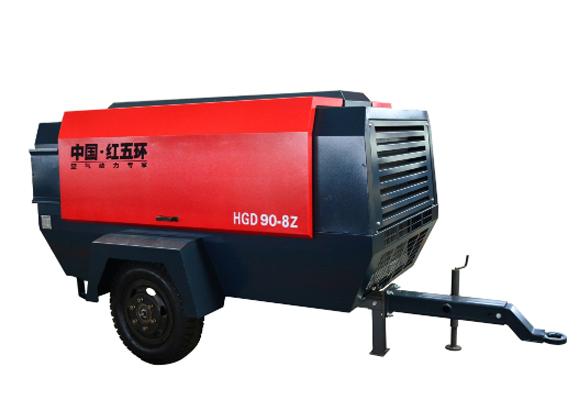 电驱-HGD90系列移动空压机