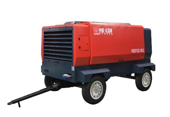 电驱-HGD两级压缩系列移动空压机
