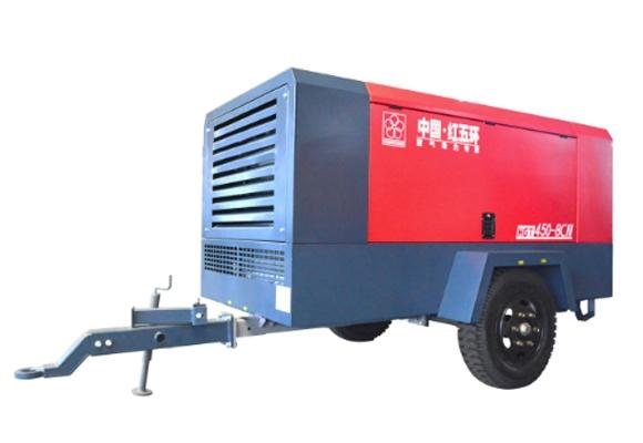 柴驱-HGT中低压系列移动空压机