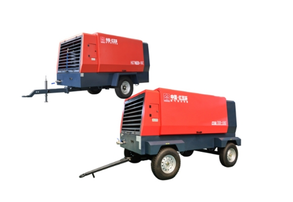 HGT单级中高压柴移螺杆空压机