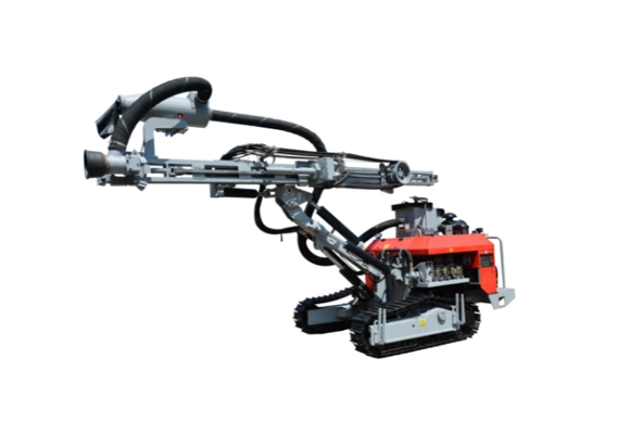 杰亚A7履带式露天潜孔钻机